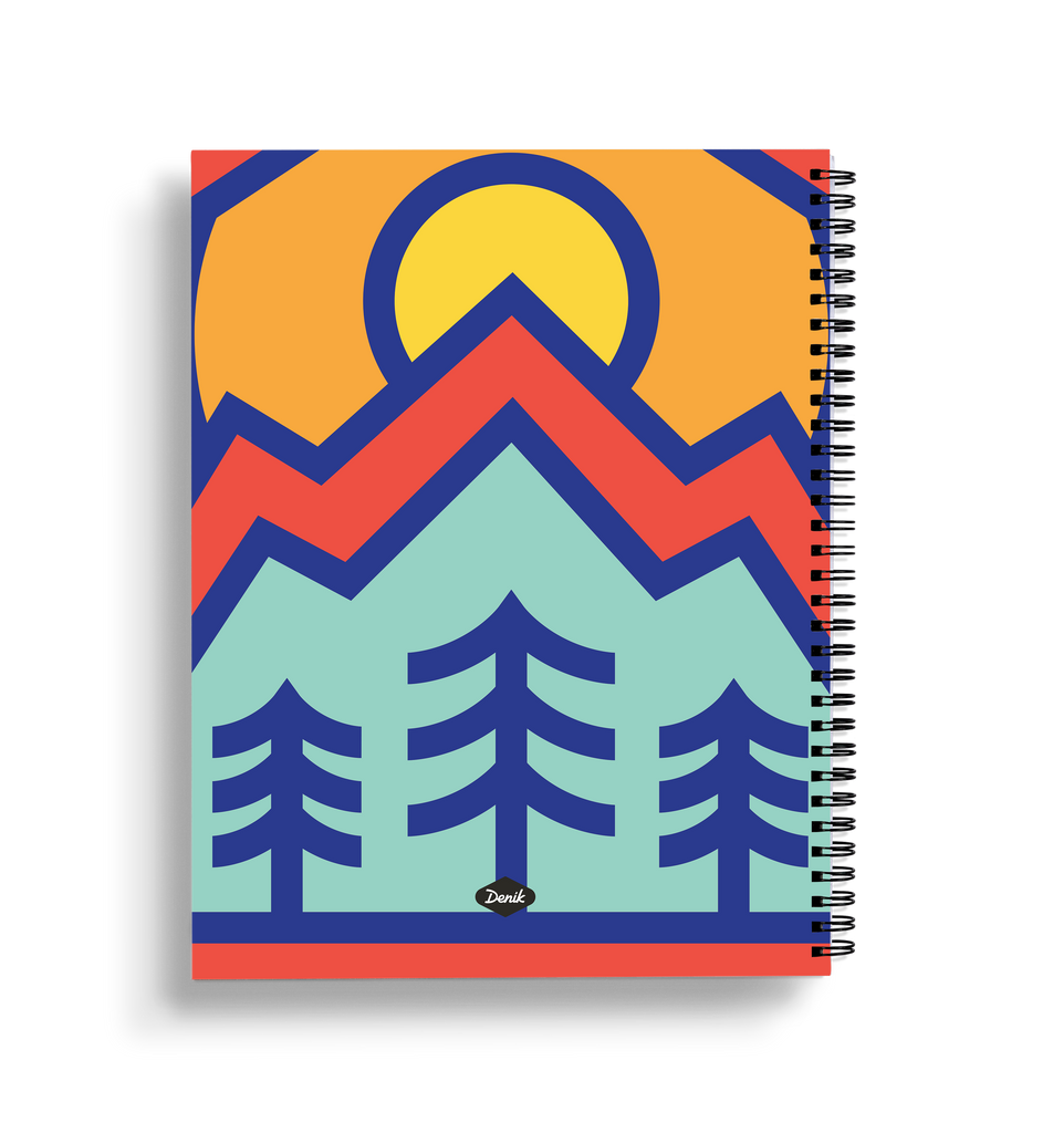 Mt. Rainier Large Wire-O Notebook