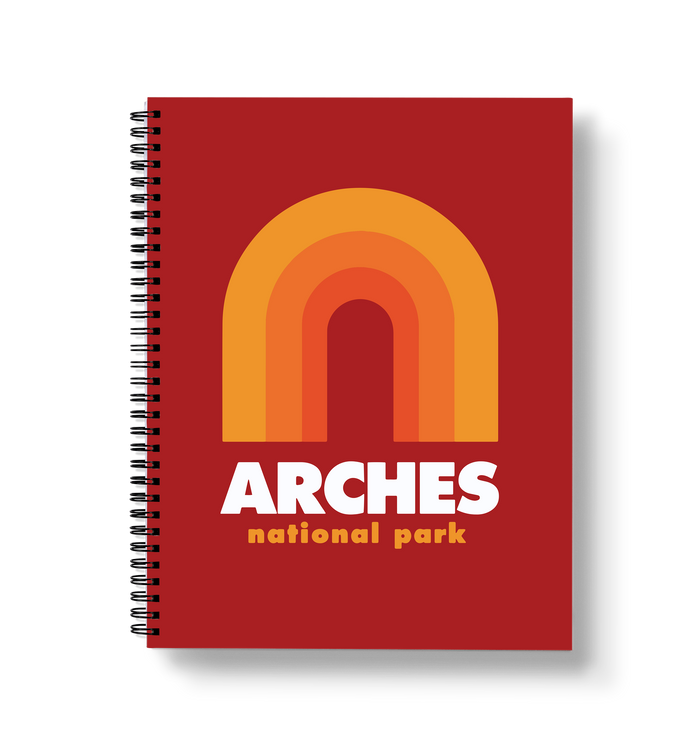 Arches Large Wire-O Notebook