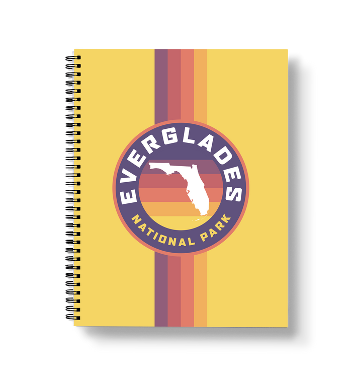 Everglades Large Wire-O Notebook