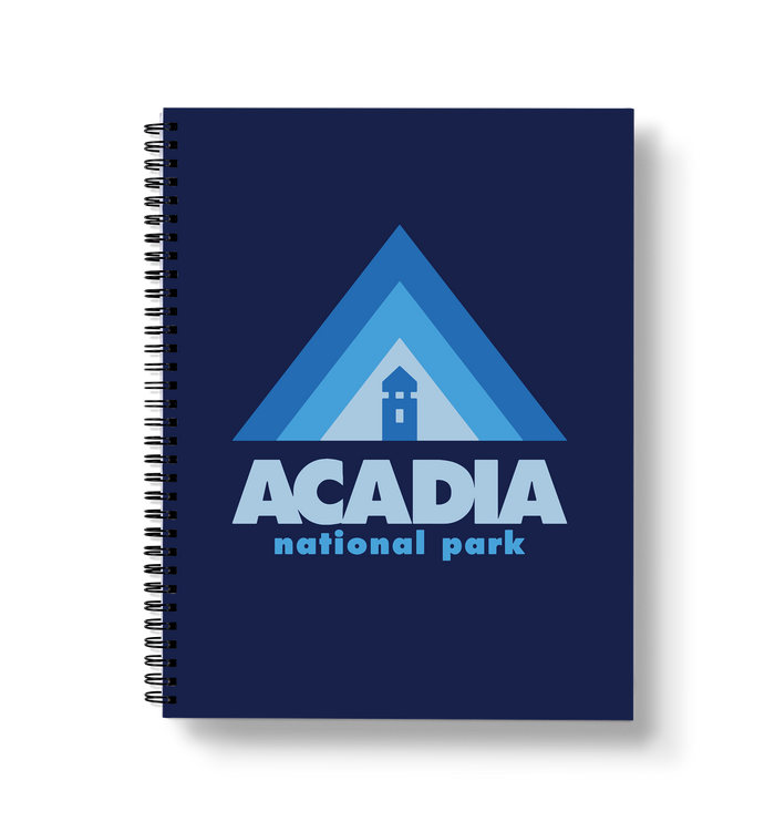 Acadia Large Wire-O Notebook