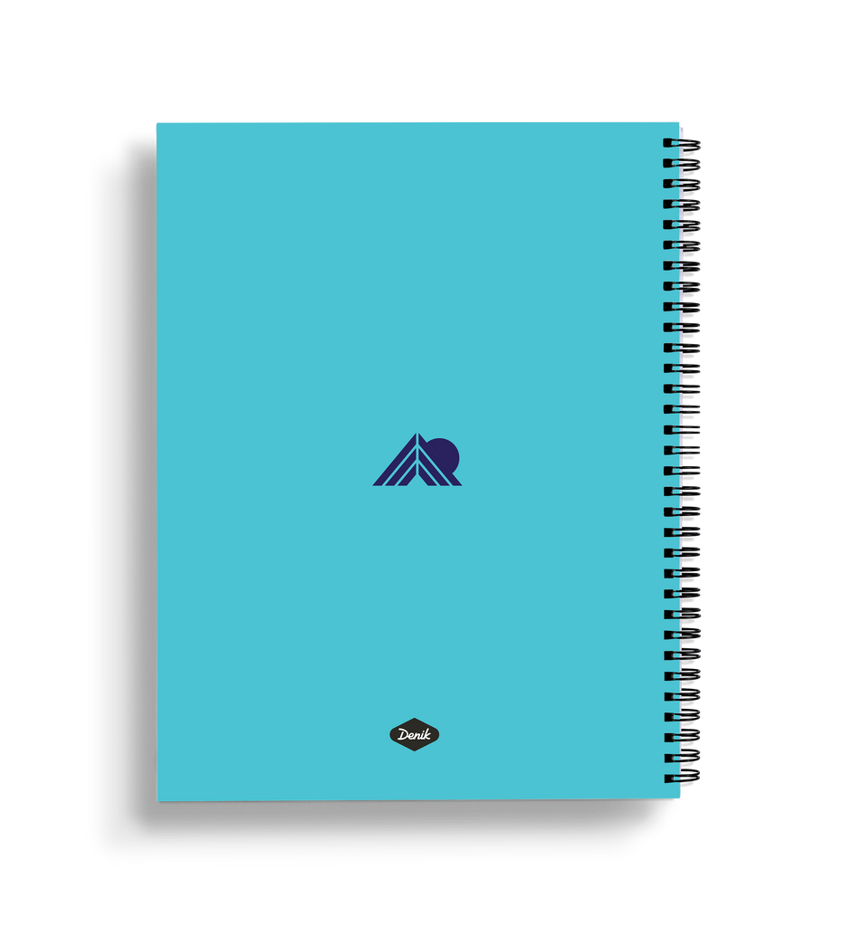 Glacier Large Wire-O Notebook
