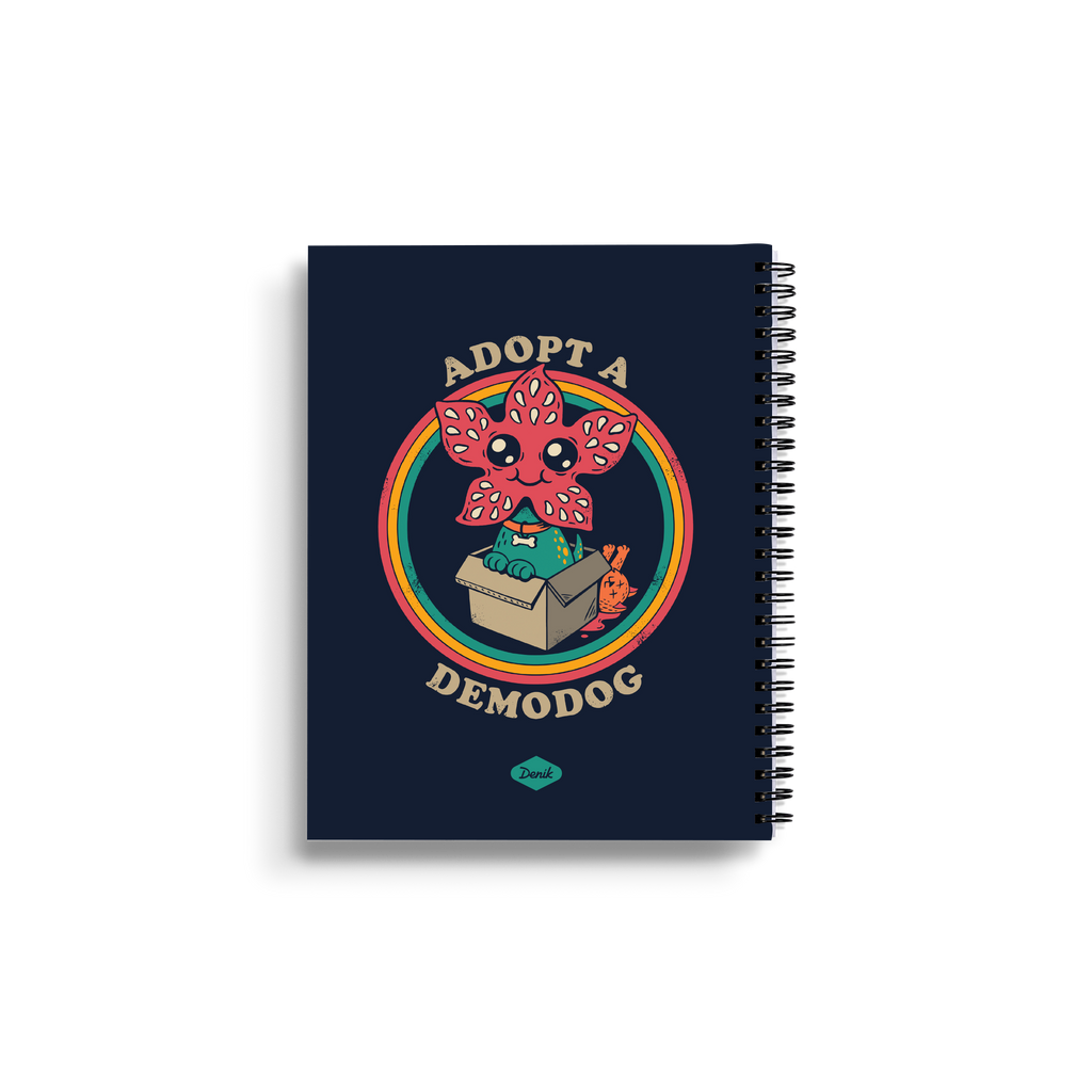 Adopt a Demodog Medium Wire-O Notebook