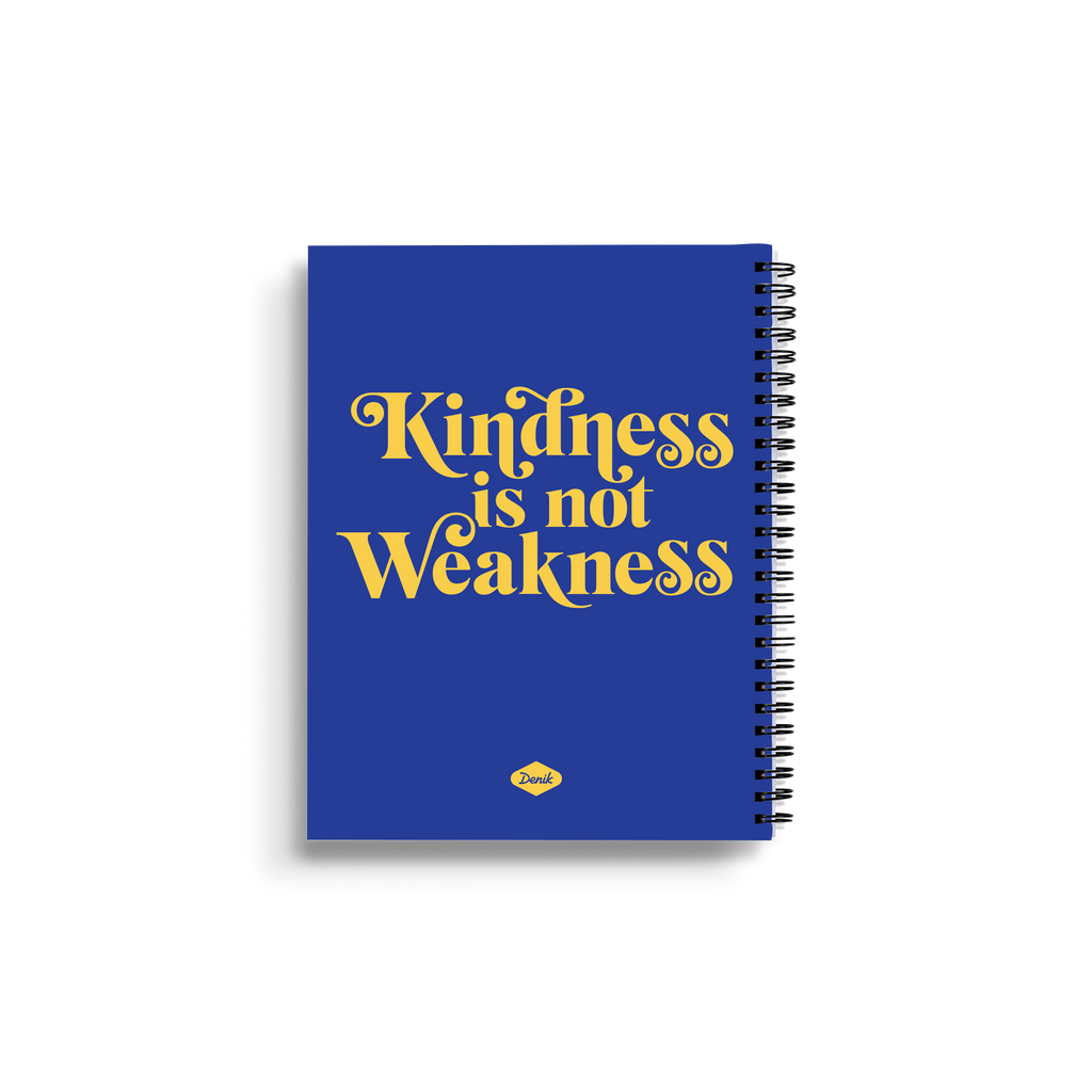 Kindness is Not Weakness Medium Wire-O Notebook