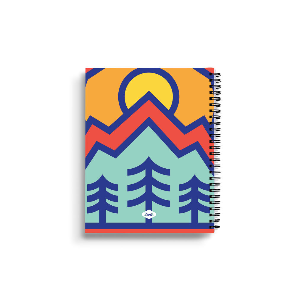 Mt. Rainier Medium Wire-O Notebook