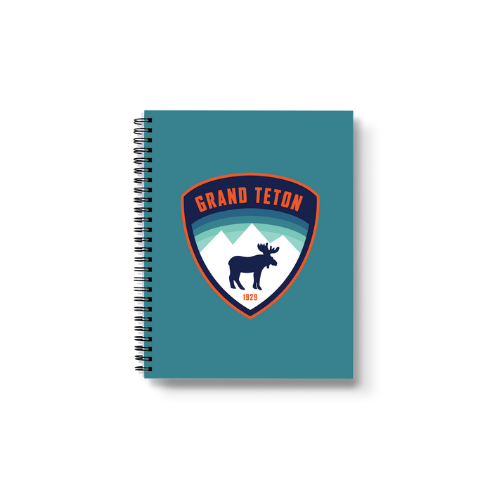 Grand Teton - Moose Medium Wire-O Notebook