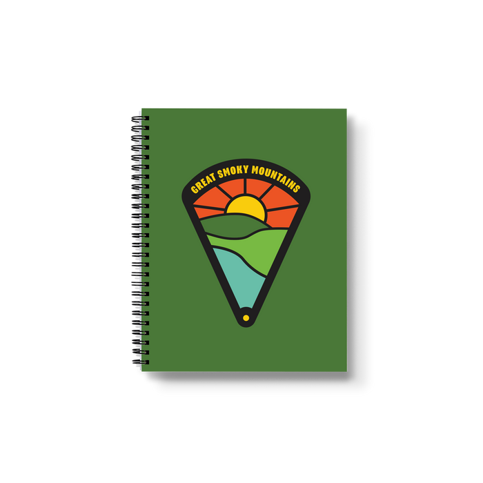 Great Smoky Mountains Medium Wire-O Notebook