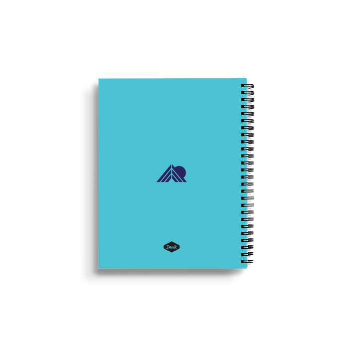 Glacier Medium Wire-O Notebook