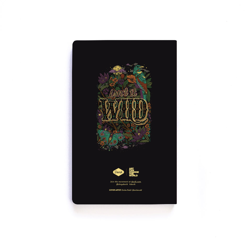 Isn't It Wild Softcover Notebook