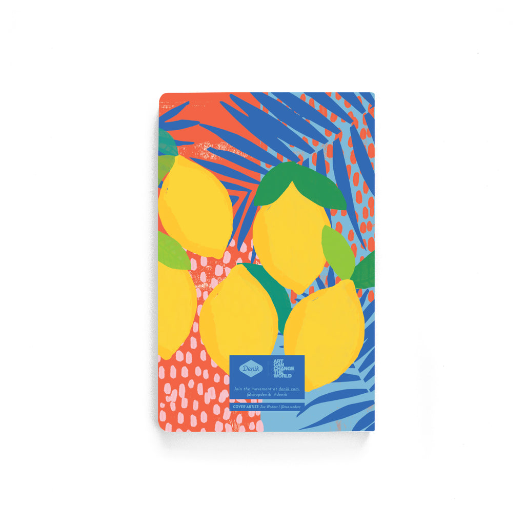 Lemon Twist Softcover Notebook