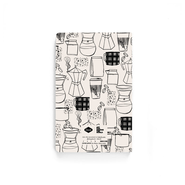 The Daily Grind Softcover Notebook