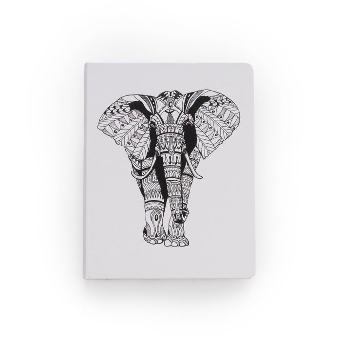 Tribal Elephant Hardcover Sketchbook