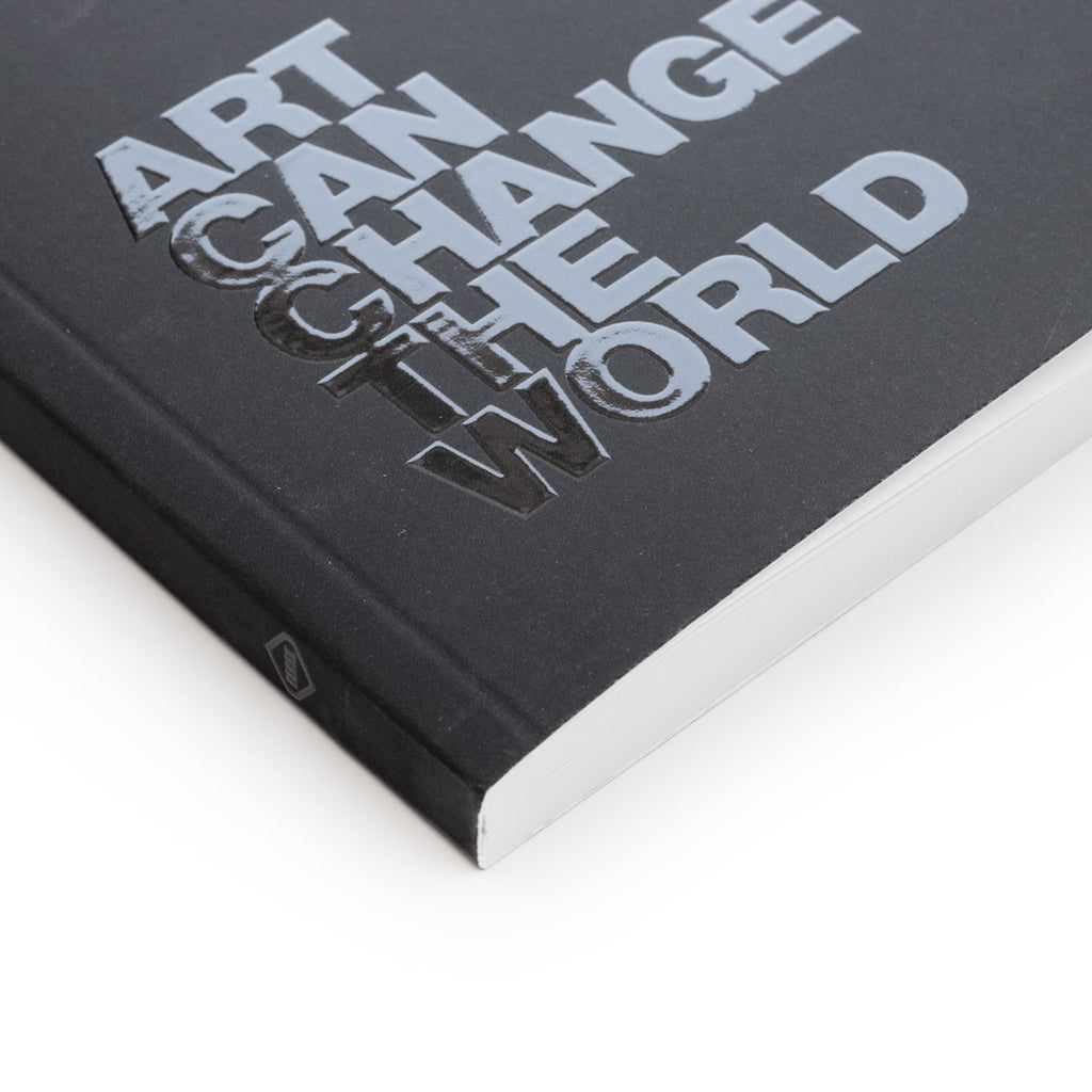 """Art Can Change The World"" Layflat Notebook"
