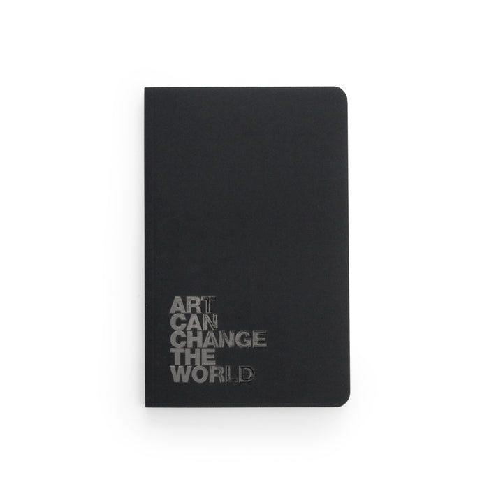 Art Can Change The World Layflat Softcover Notebook