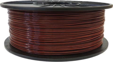 Bay Horse Brown 3D Printer Filament PLA 1.75mm 2.5LB Spool
