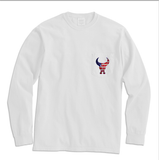 "NickTheBullFan ""NTBF"" Longsleeve Pocket Tee (Multiple Colors)"