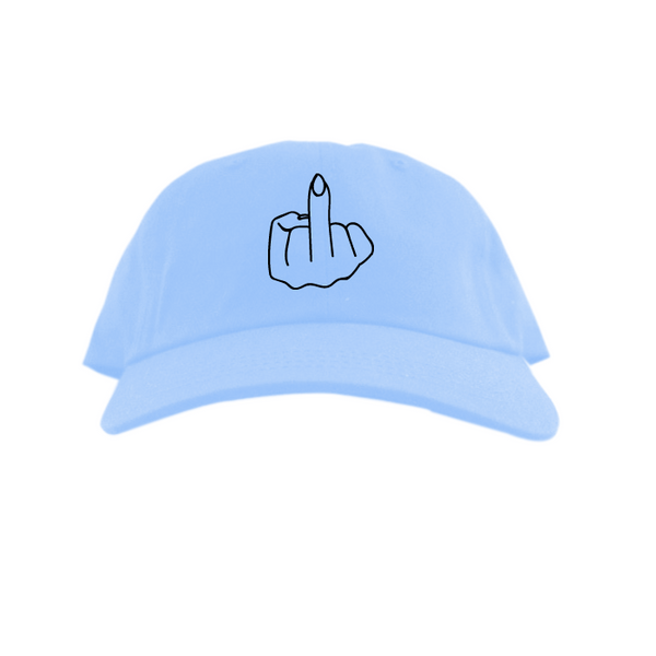 Tana Mongeau DAD Hat Light Blue