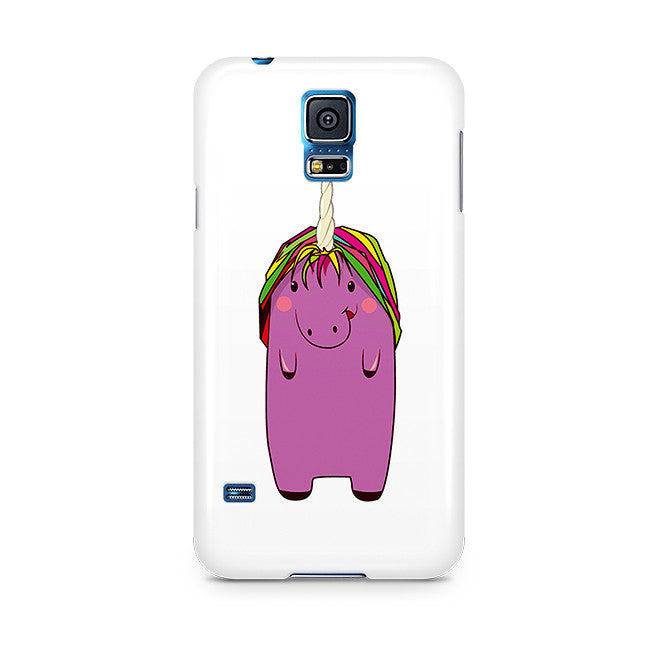Ella: Purple Unicorn Samsung Phone Case