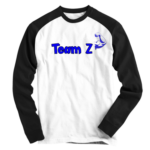 TeamZ All Day Flexin' (BASEBALL TEE)