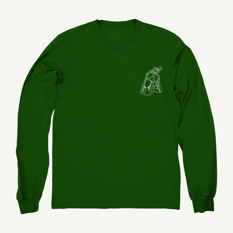 Dallmyd: Longsleeve Army Green