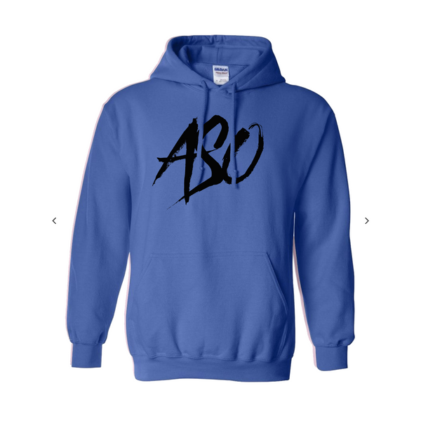 ASO Squad Hoodie Navy Blue