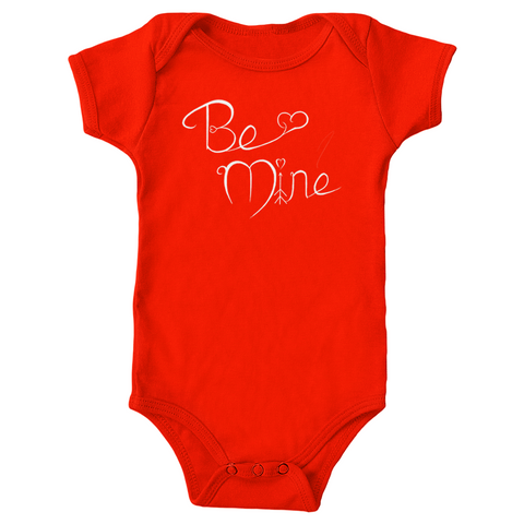 "V-Day ""Be Mine"" Onesie"