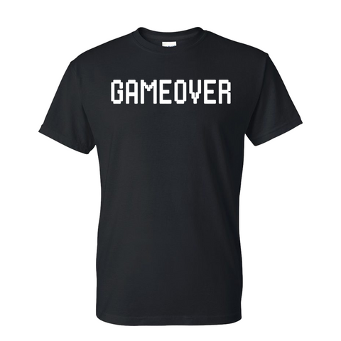 Sssniperwolf Game over Black T shirt
