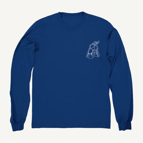 Dallmyd: Longsleeve Navy Blue