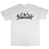 Youtubable | Be Your Self T Shirt ( White T shirt )