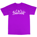 Youtubable | Be Your Self T Shirt ( Purple T shirt )
