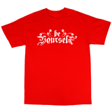 Youtubable | Be Your Self T Shirt ( Red T Shirt )