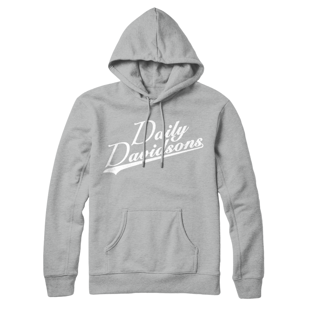 "Daily Davidson"" Hoodie (Multiple Colors)"