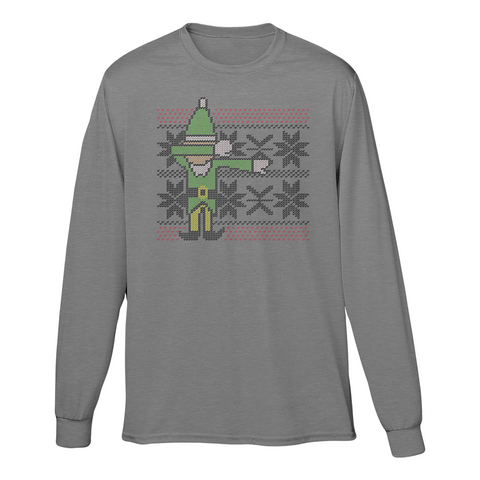 UGLY Dabbing Elf Longsleeve (Multiple Colors)