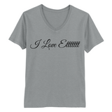 "SincerelyGracie ""I Love Ettttttt"" Vneck (Multiple Colors)"
