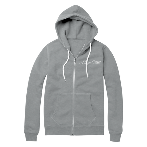 "SincerelyGracie ""I Love Etttttt"" Zip-Up Hoodie (Multiple Colors)"
