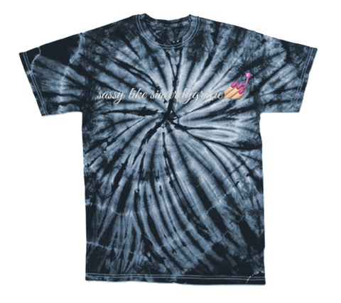 "SincerelyGracie ""Sassy Like Sincerely Gracie"" Tie - Dye T-Shirt"