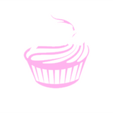 Jenn Cupcake 4x4 Sticker (Multiple Colors)