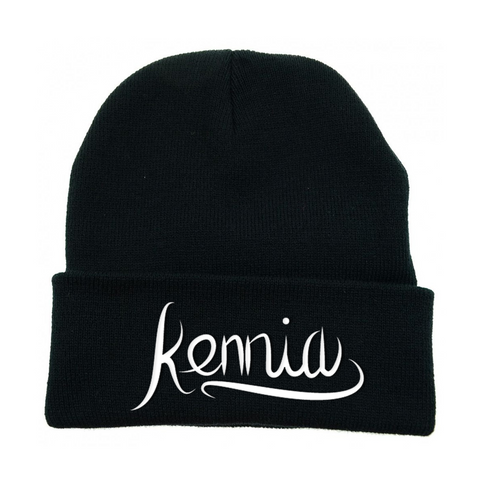 Kennia Black Beanie (Multiple Colors)