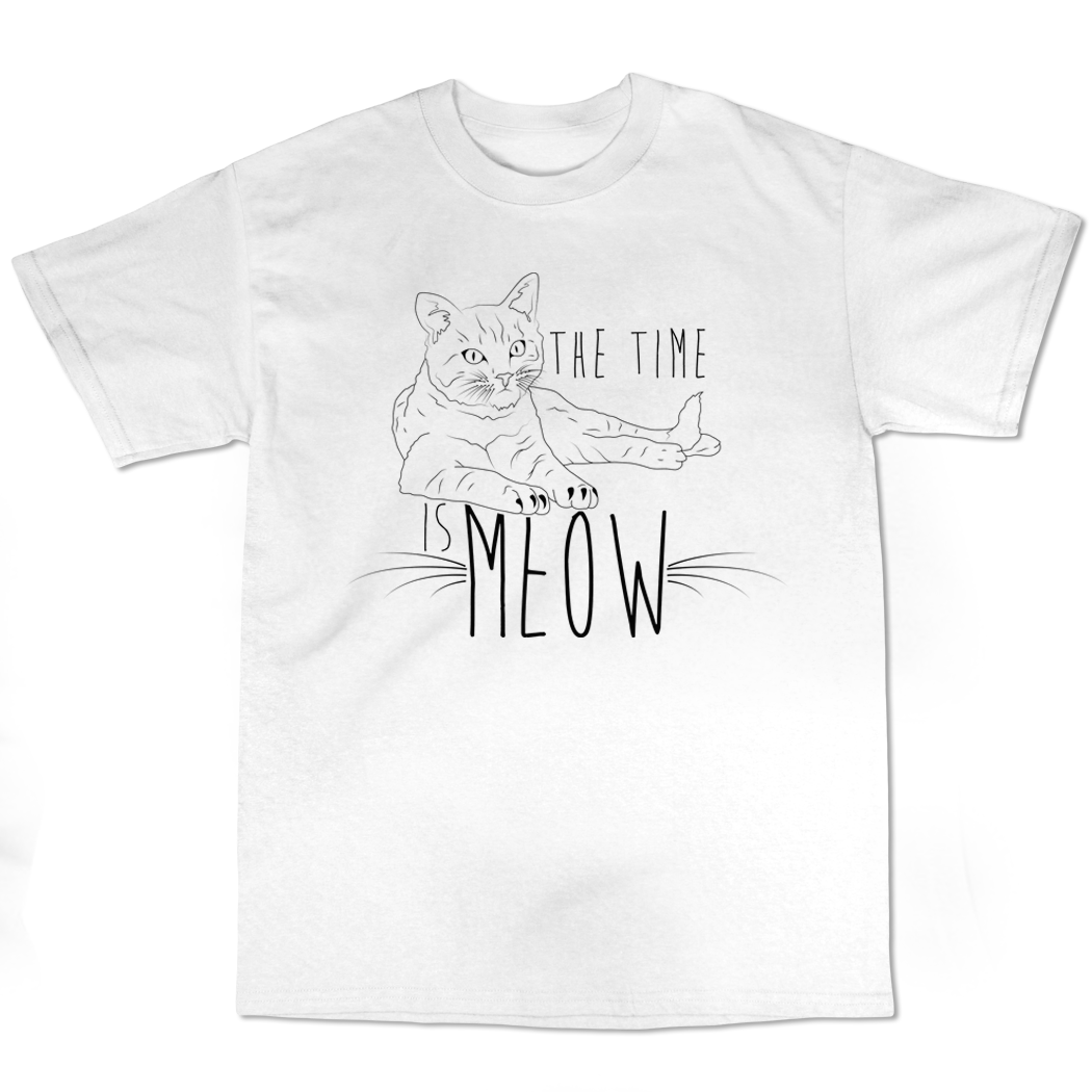 "Kennias Beauty ""Meow""T-Shirt (Multiple Colors)"