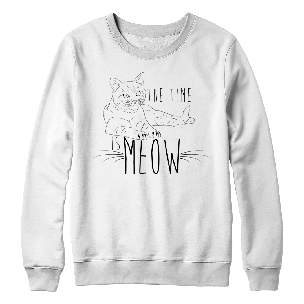 "Kennias Beauty ""Meow"" Sweatshirt (Multiple Colors)"