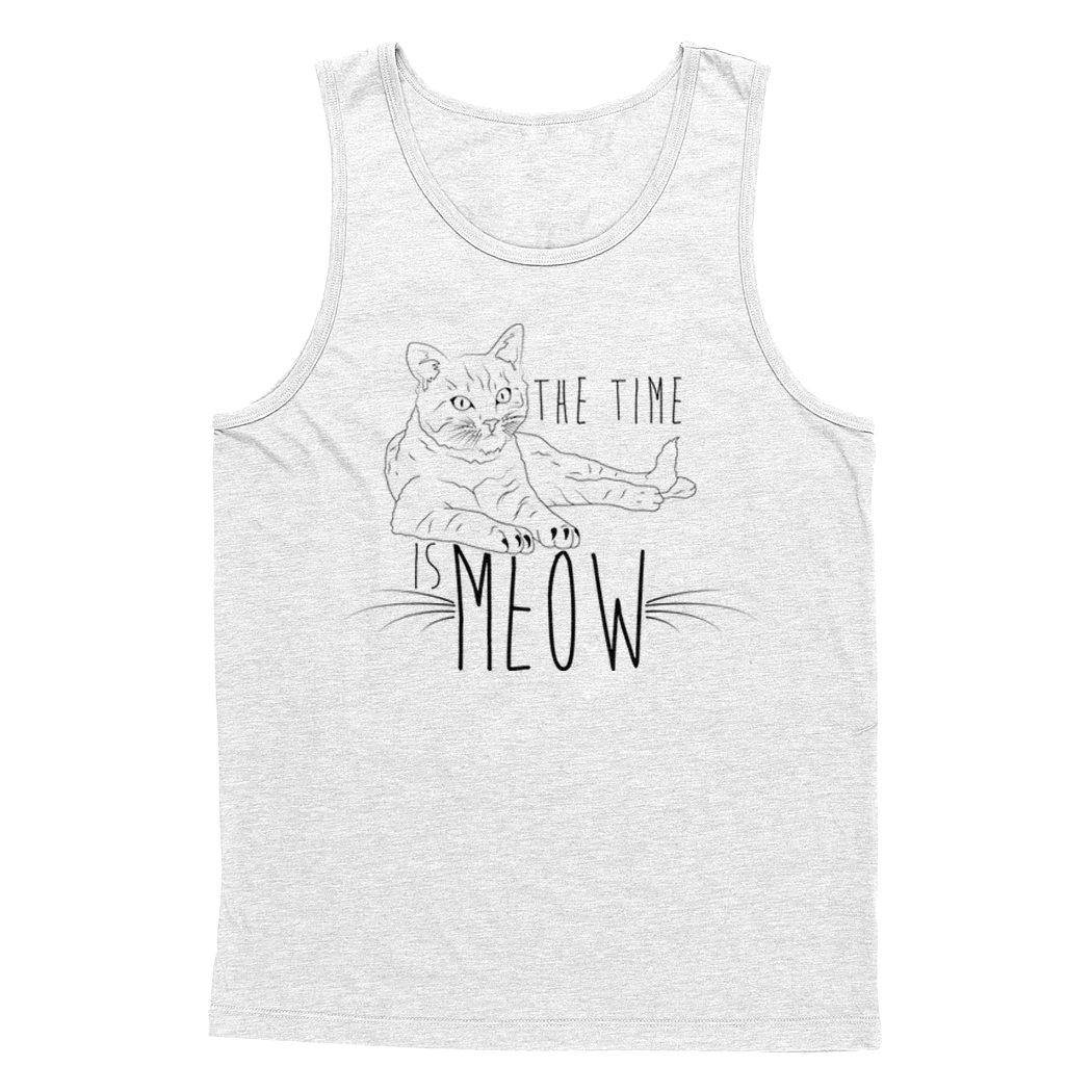 "Kennias Beauty ""Meow"" Tank T-Shirt (Multiple Colors)"