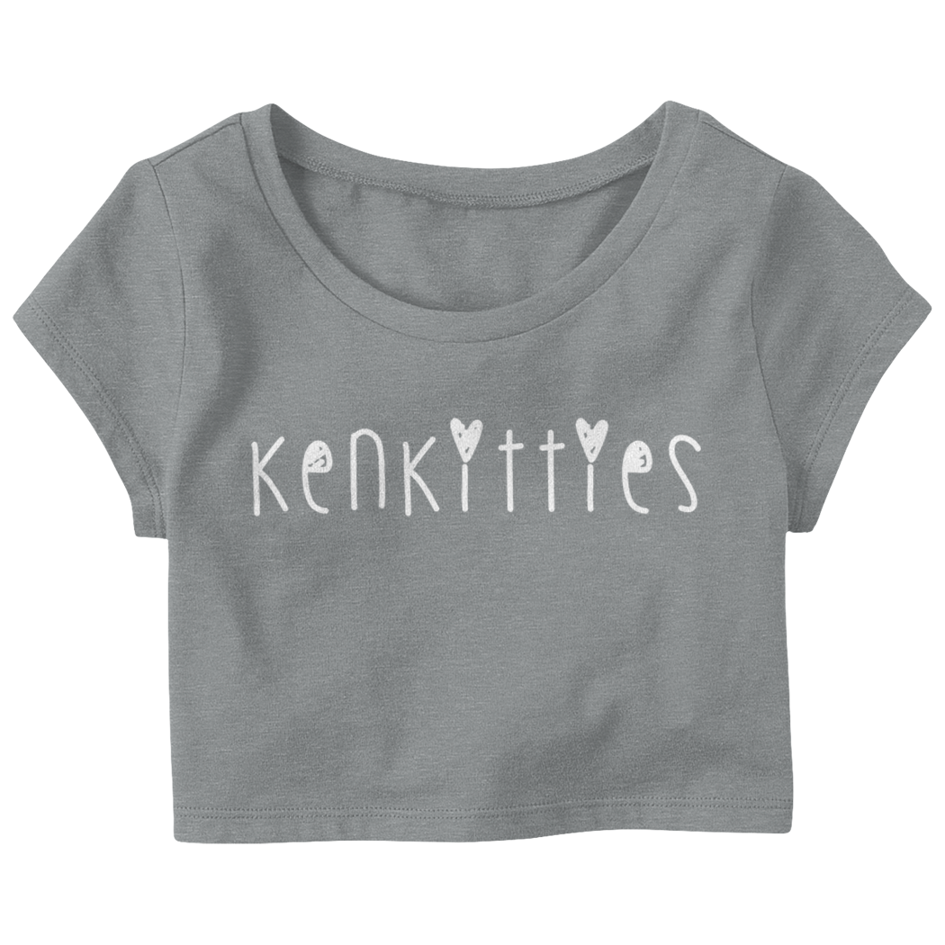"Kenniasbeauty ""Ken Kitties"" Crop Top T-Shirt"
