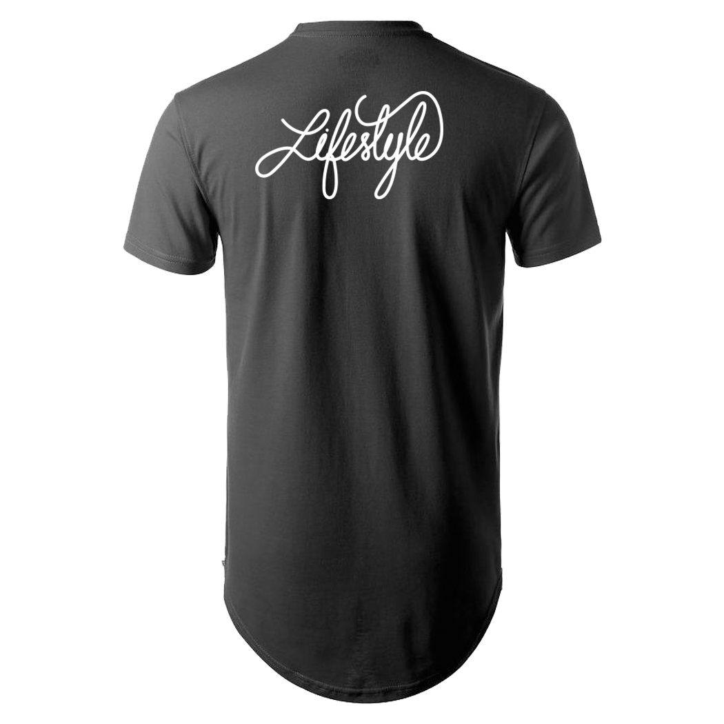 Life Style Long T- Shirt (Multiple Colors)