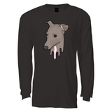 Tana Mongeau Lumen Drip Black Long Sleeve T-Shirt
