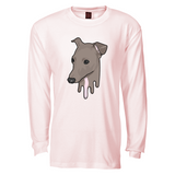 Tana Mongeau Lumen Drip Light Pink Long Sleeve T-Shirt