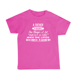 "Icemikeloveasia ""A Father Figure Quote Logo"" Kid T-Shirt (Multiple Colors)"