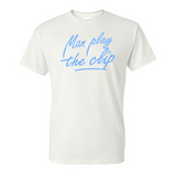 Mega Mcqueen Man Play The Clip T Shirts : Multiple color choices