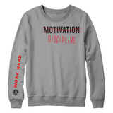 Motivation  Longsleeve T shirt ( 2 colors to pick from )