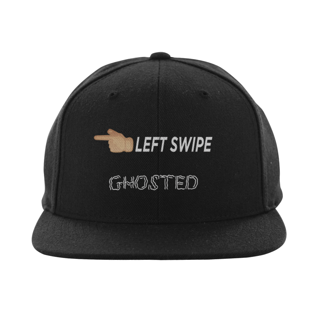 "Olivia Cara ""Left Swipe Ghosted"" SnapBack (Multiple Colors)"