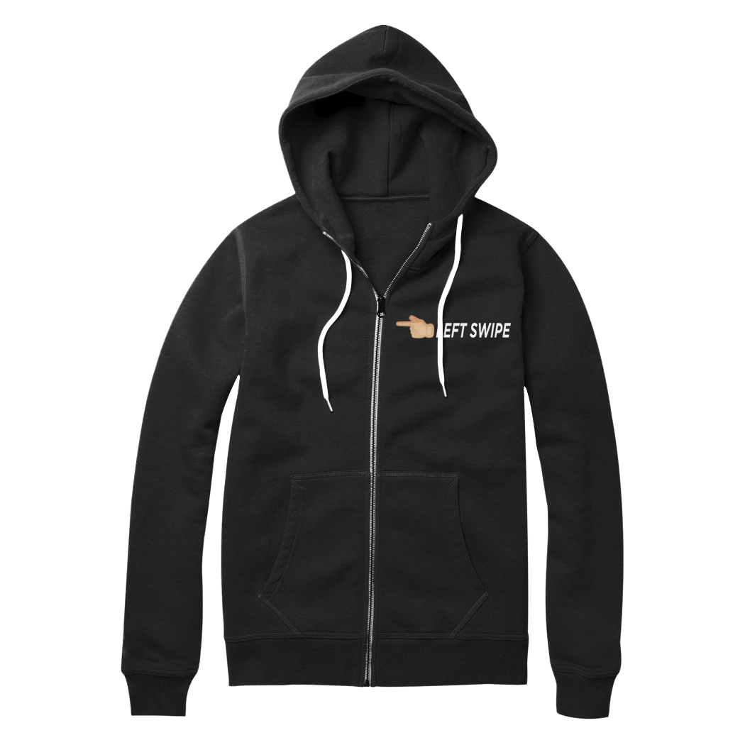 "Olivia Cara ""Left Swipe"" Zip-Up Hoodie (Multiple Colors)"