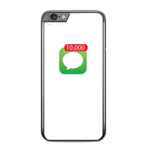 Paris: 10,000 Notification Iphone Clear Case (Multiple Style Options)